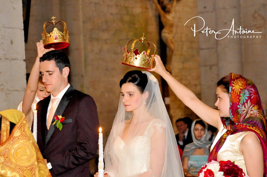 Russian Orthodox wedding France Photogra