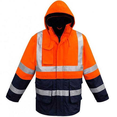 Hi Vis Fire Resistant, Anti Static, Waterproof Jacket
