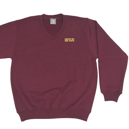 Fleecy Pullover - Maroon