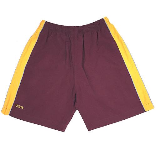 Track Shorts - Maroon