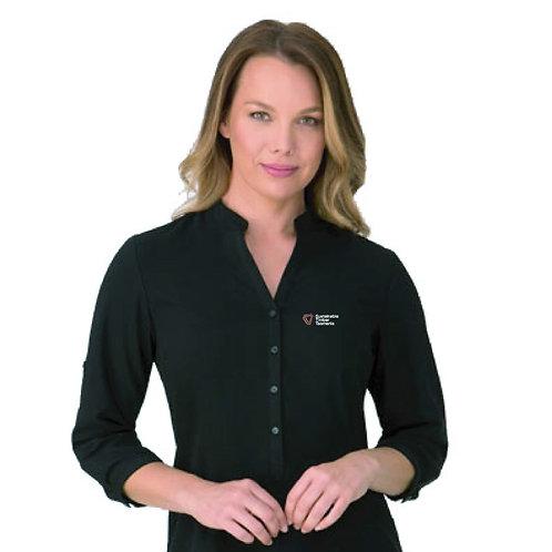 Ladies 3/4 Length Sleeve Blouse