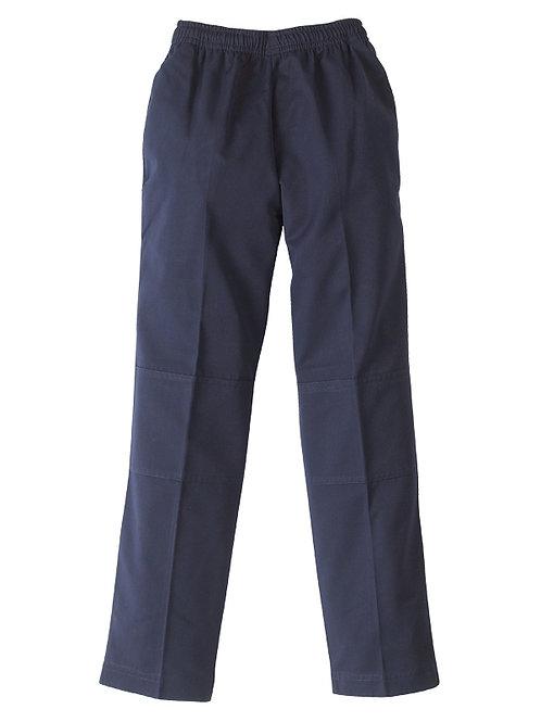 Academic Pants with Double Knee - Navy