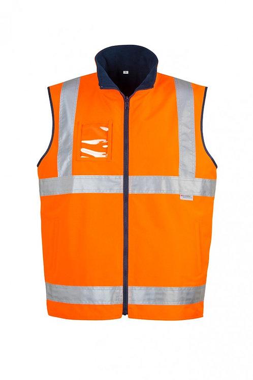 Hi Vis Light Reversible Fleece Lined Vest