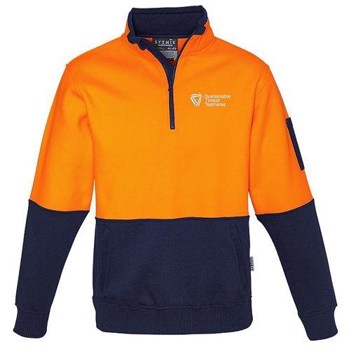 Hi Vis 1/2 Zip Pullover
