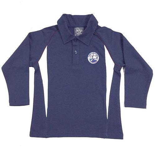 Long Sleeve Sports Polo