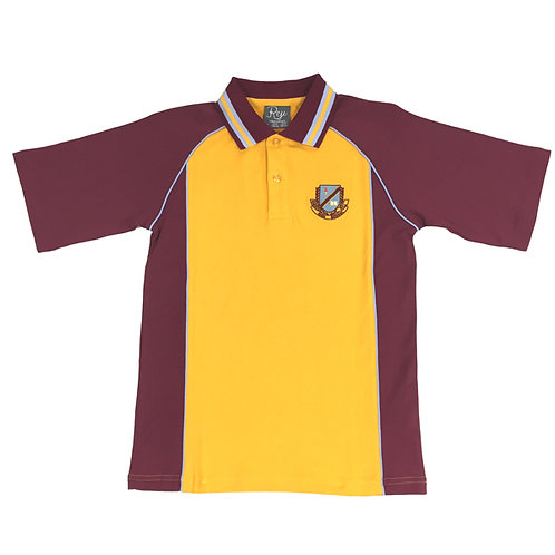 Polo Crested - Maroon