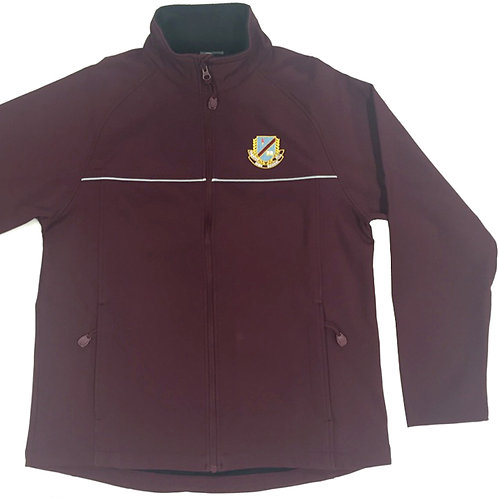 Soft Shell Crested Jacket - Maroon