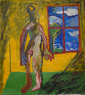 Self-Portrait in the Yellow Room
