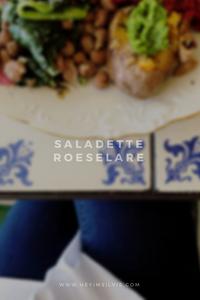 Hey. I'm Silvie   Lifestyle Blog. Saladette Roeselare
