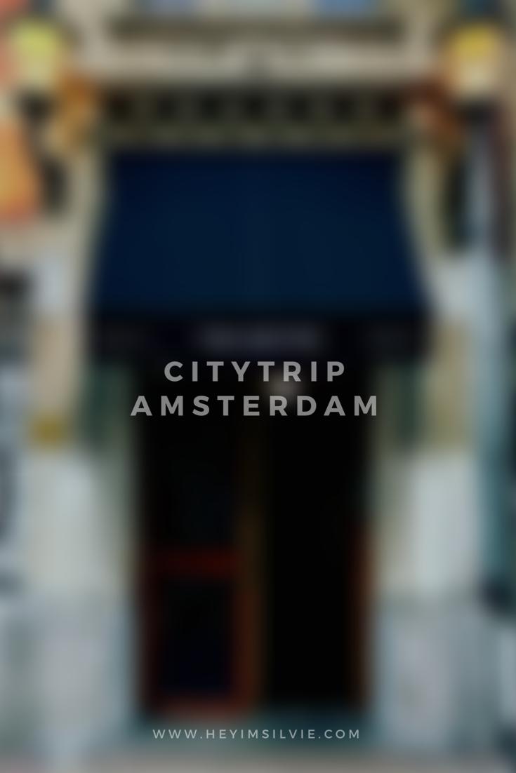 Hey. I'm Silvie | Lifestyle Blog. Amsterdam