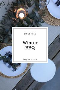 Hey. I'm Silvie | Lifestyle blog. Winter BBQ