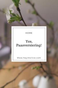 Hey. I'm Silvie | Lifestyle Blog. Yes, paasversiering!