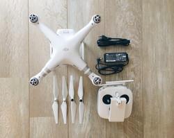 Drone boven