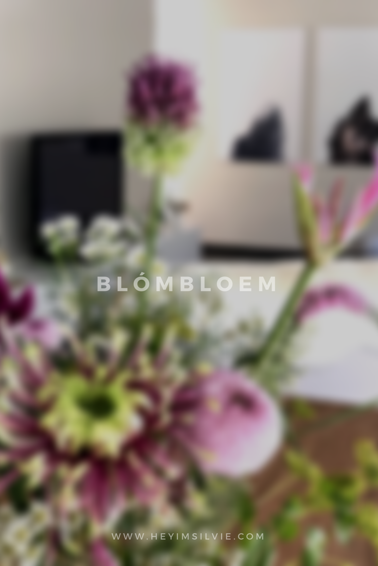 Hey. I'm Silvie | Lifestyle Blog. Blombloem.