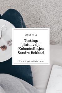 Hey I'm Silvie | Lifestyle Blog. Testing: glutenvrije kokosballetjes