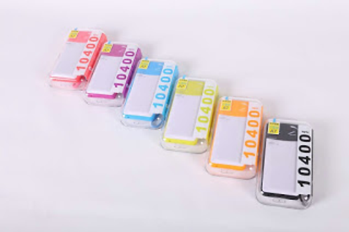A7 10,400 MAH Colored Power Banks