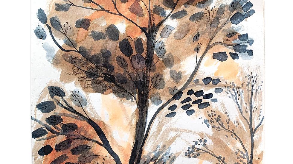 autumn tree original