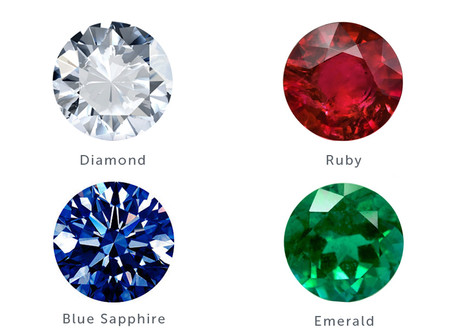 Understanding the four main precious stones!