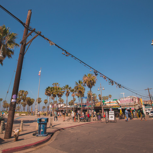 Our Adventures: Sunny Sand of California to the Big Light & Big City.