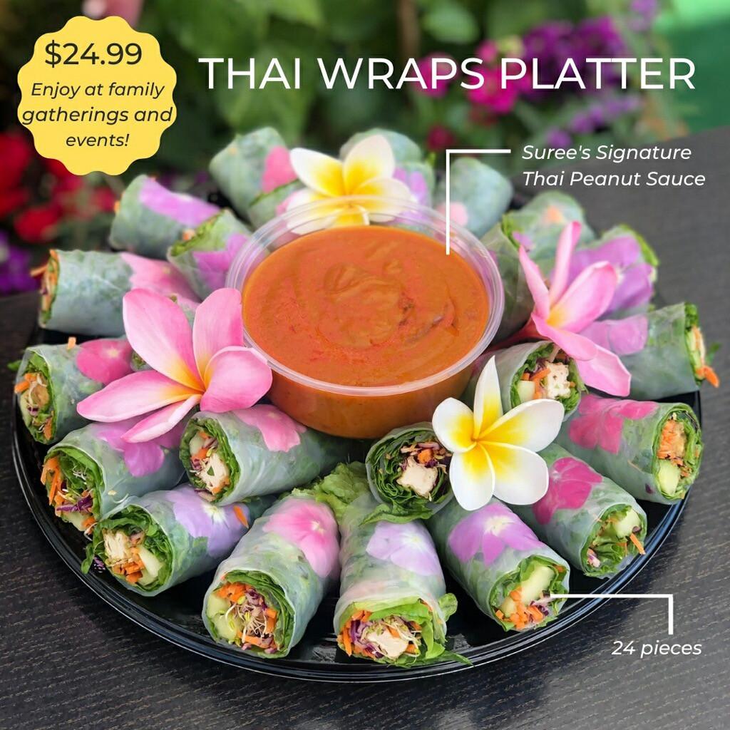 Thai Wraps Platter (For Special Order)