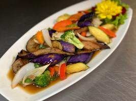 Basil Eggplant Vegetables