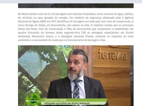 Brumadinho: buscas por desaparecidos e impactos ao Meio Ambiente