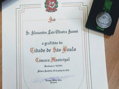 Dr AZZONI RECEBE PRÊMIO RESPONSABILIDADE SOCIOAMBIENTAL