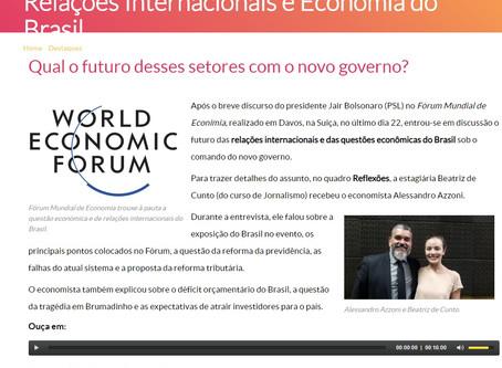 Relações Internacionais e Economia do Brasil