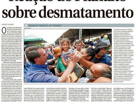 Bolsonaro anuncia que vai divulgar hoje à noite a lista de países que compram madeira ilegal