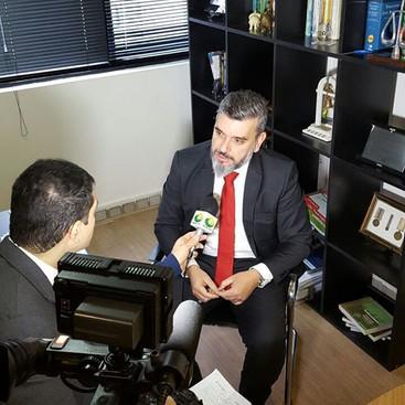 Dr Alessandro Azzoni em entrevista ao jo