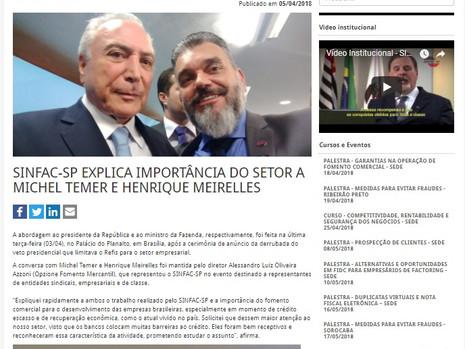 Presidente Temer derruba o veto presidencial que limitava o REFIS