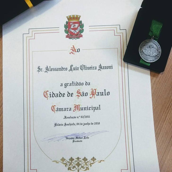Prêmio Câmara Municipal SP