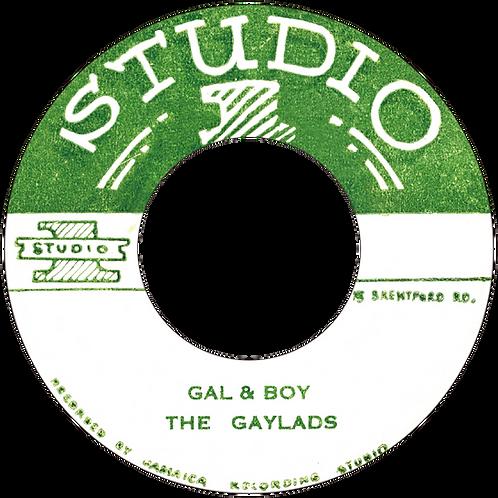 DP/A. GAL &  BOY - THE GAYLADS / B. 20-75 - ROLAND ALPHONSO