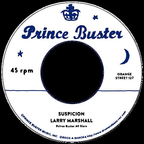 DP/ SUSPICION - LARRY MARSHALL / BROKEN HEART - LARRY MARSHALL [7INCH]