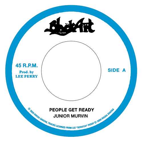 """A.PEOPLE GET READY - JUNIOR MURVIN B. DUB - THE UPSETTERS"""