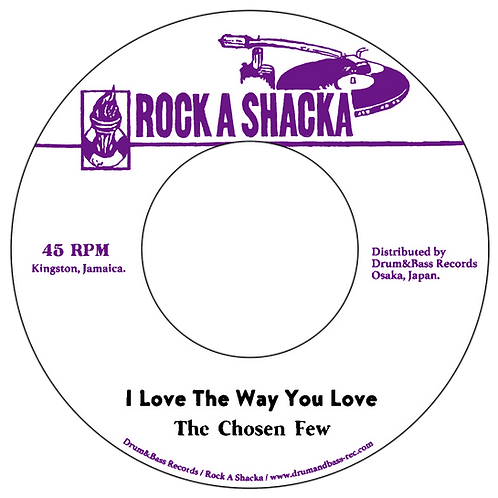 Chosen Few - I Love The Way You Love / Version [7INCH]