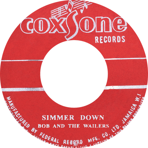 DP/A. SIMMER DOWN - THE WAILERS / B. HOW MANY TIMES - THE WAILERS