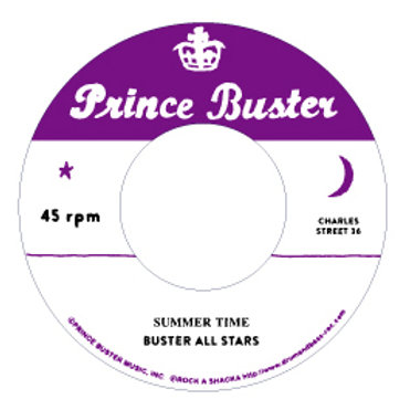A. Summer Time - Buster All Stars /B. Hey Train - Buster All Stars