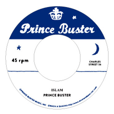 DP/ A. Islam - Prince Buster  / B. Sudden Attack -  Don Drummond [7INCH]の複製