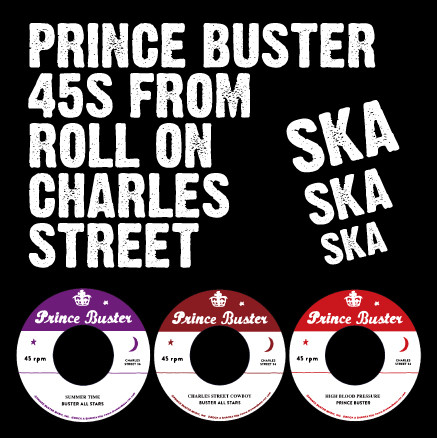 45s from Roll On Charles Street