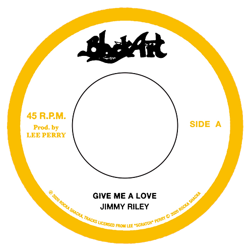 "DP/""A.GIVE ME A LOVE - JIMMY RILEY B. DUB - THE UPSETTERS"""