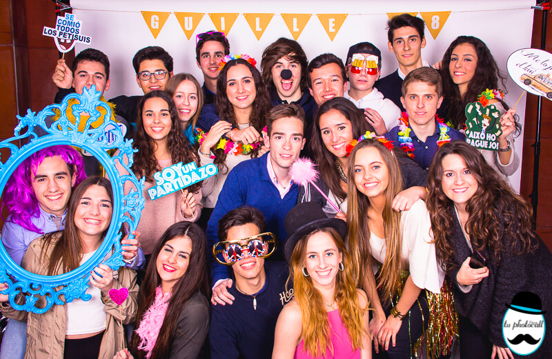 Photocall cumple Guille 1-24