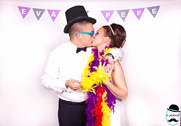 Photocall boda Eva y Pepe