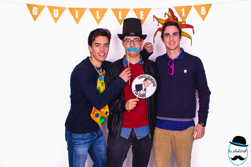 Photocall cumple Guille 1-19