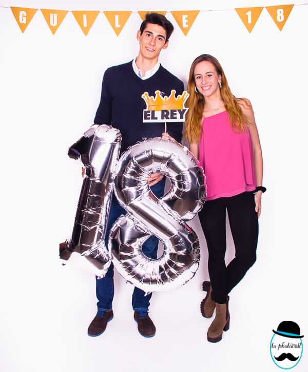 Photocall cumple Guille 1-8