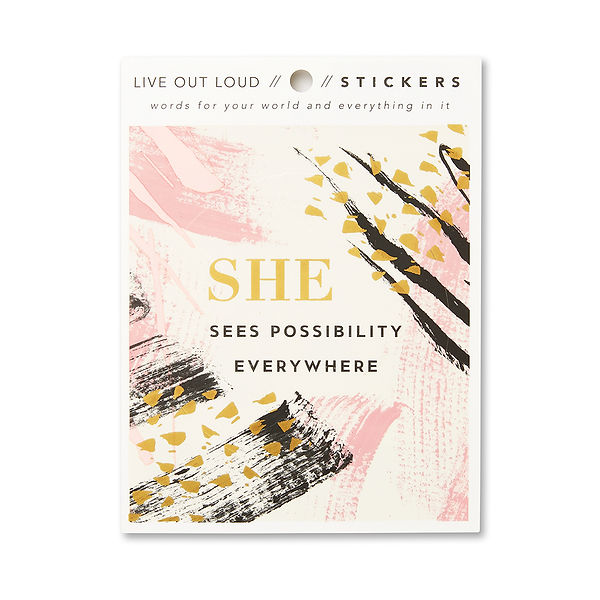4 She sees possibility everywhere_Sticke