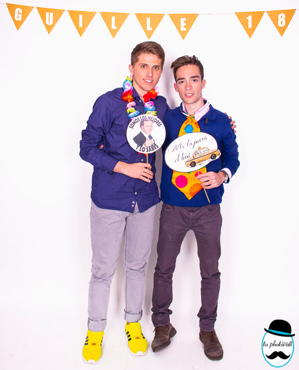 Photocall cumple Guille 1-87