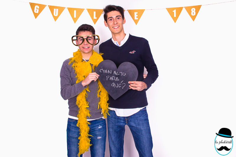 Photocall cumple Guille 1-29