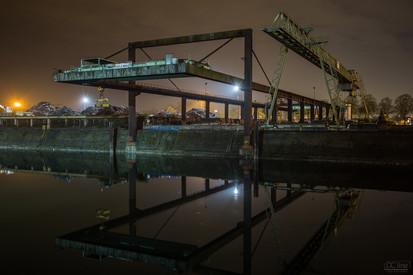 Industrial harbor