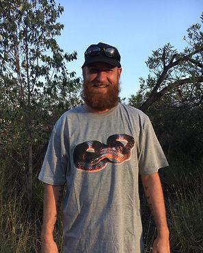 Nature For You, Collett's Snake, snake shirt, venomou snake